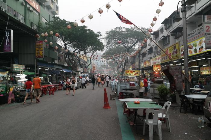 jalan alor kuala lumpur food