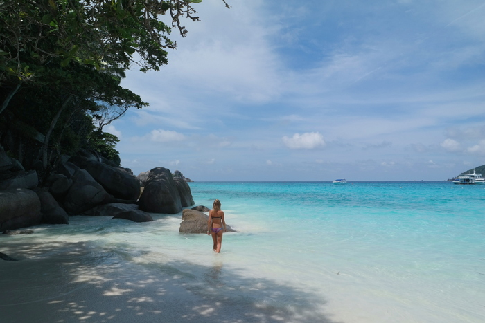 ProcessSimilan Islands eilanden thailanded with VSCO
