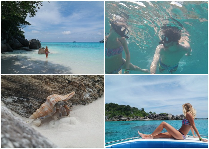 Similan eilanden islands thailand