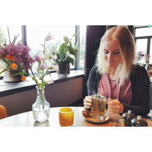 Its tea time!  minttea vandervalk tea tealover blogger flowershellip