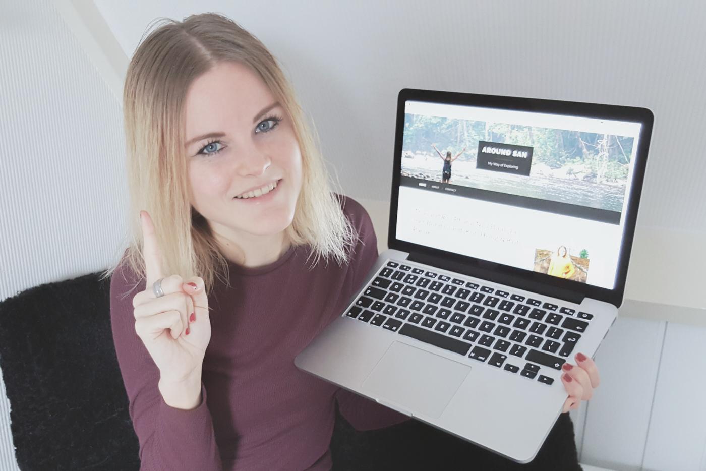 winactie sans-online 1 jaar bloggen