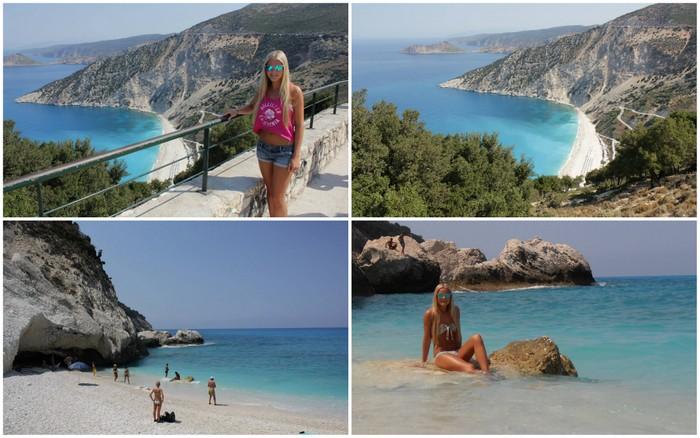 myrtos beach kefalonia griekenland greece