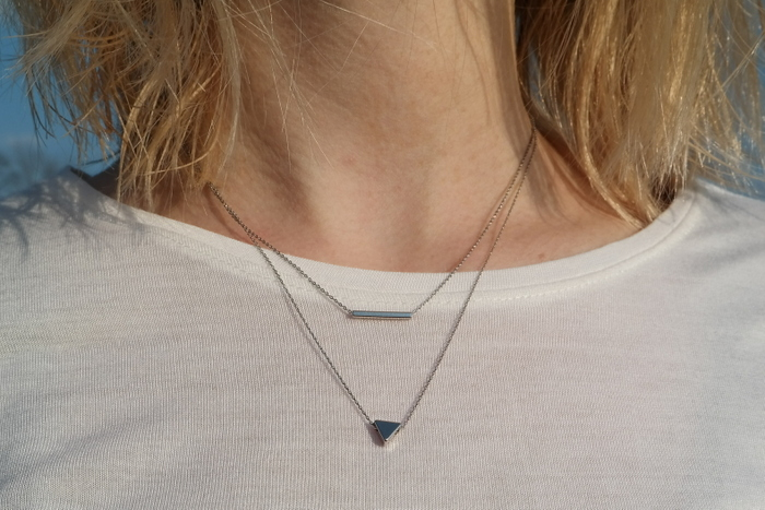 outfit blog minimalistische ketting