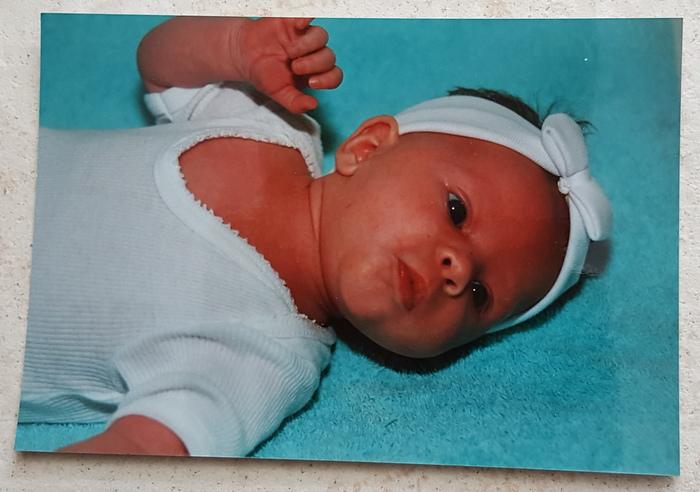 22e verjaardag babyfoto