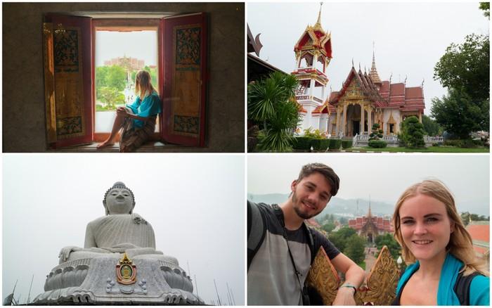 Phuket Karon big buddha thailand wat chalong