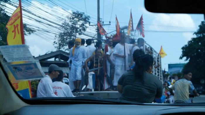 festival phuket thailand vegetarian