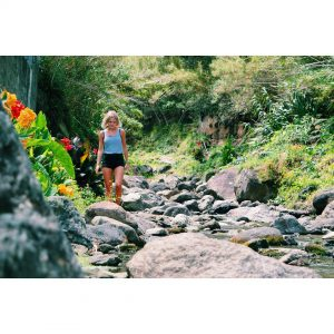 Hiking waterfalls and flowers I love this island! azores hikinghellip