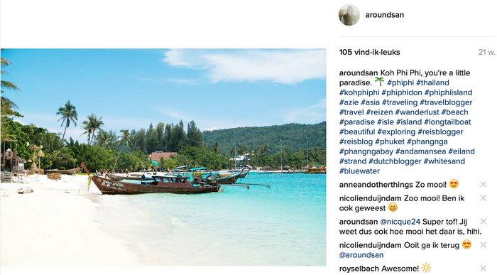 koh phi phi thailand instagram