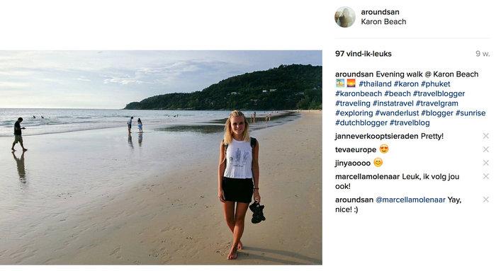 instagram thailand phuket karon beach
