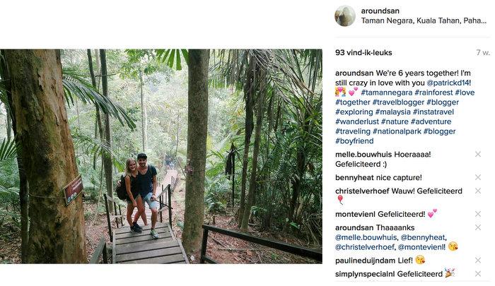 instagram maleisie taman negara