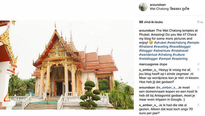 instagram phuket thailand wat chalong