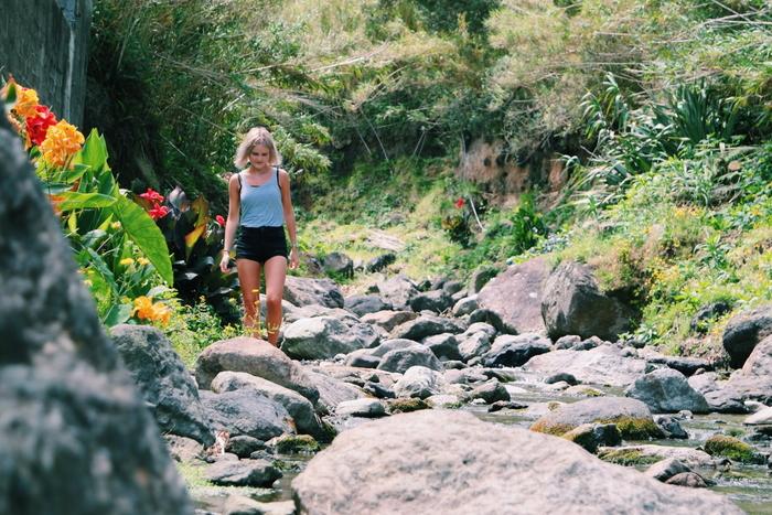 Praia dos Moinhos sao miguel azoren azores waterval waterfall aroundsan
