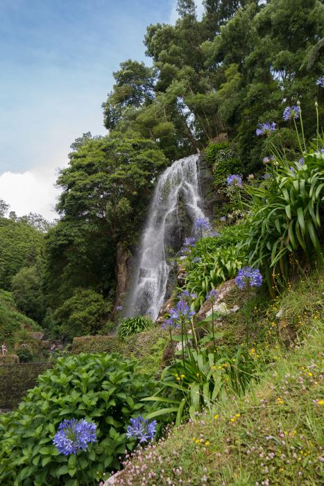 Waterval Ribeira dos Caldeirões waterfall azores azoine são miguel