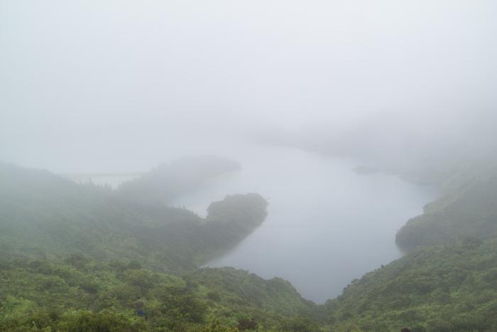 azoren azores sao miguel lagoa do fogo