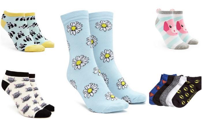 vrolijke, gekke en leuke sokken
