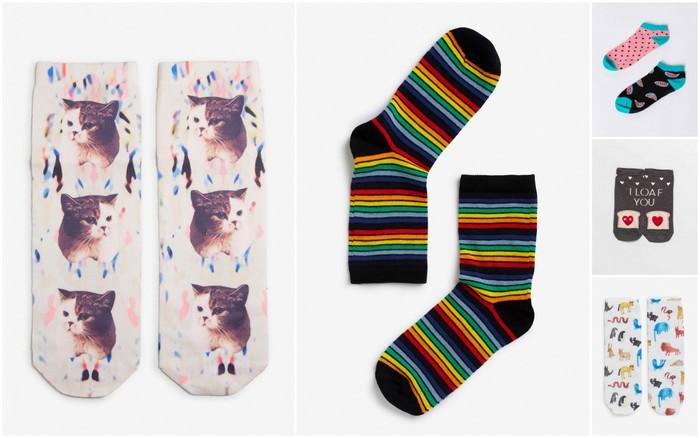 gekke, vrolijke en leuke sokken