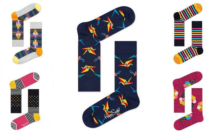 leuke, gekke en vrolijke sokken happy socks