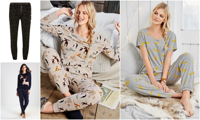 leuke herfst en winter pyjama's