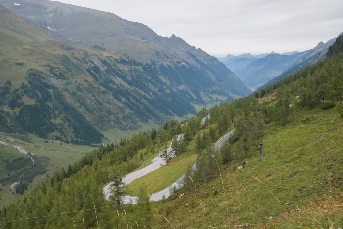De Großglockner Hochalpenstraße oostenrijk austria