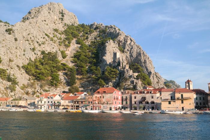 omis croatie kroatie