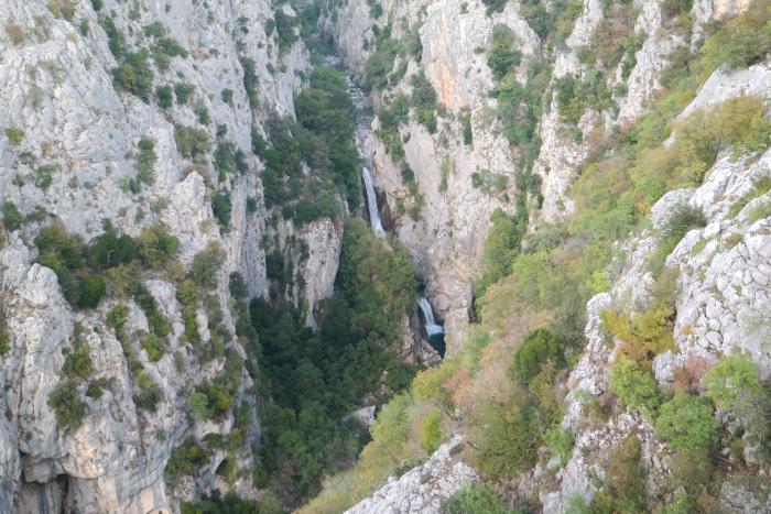 kroatie croatia zadvarje waterfall biokovo