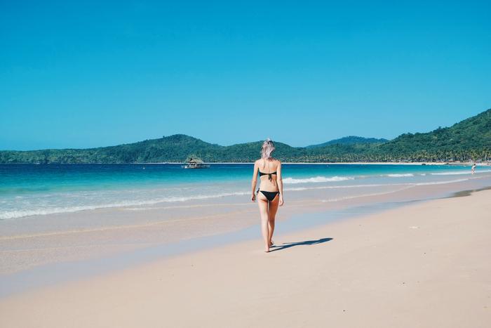 Nacpan beach palawan el nido filipijnen philippines