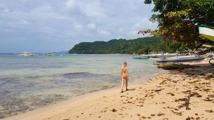 el nido palawan phillipines filipijnen caalan beach
