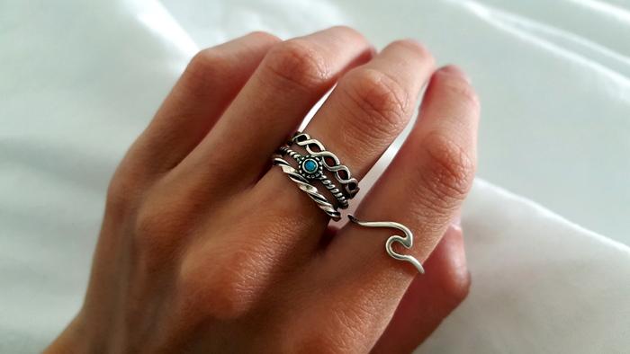 meerdere ringen combineren