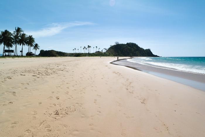 nacpan beach el nido palawan filipijnen philippines