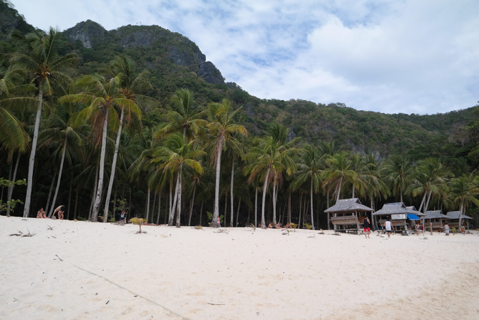 el nido bacuit archipel palawan filipijnen philippines 7 commandos beach