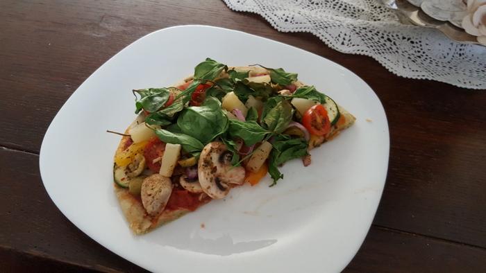 magioni courgette pizza bodem