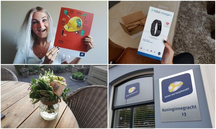 Photo Diary #106 | Eigen bedrijf, Fitbit Charge 2 & lieve verrassing