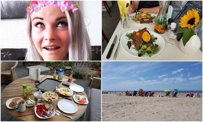 Photo Diary #108 | Strand, kweek uitslag & lekker eten