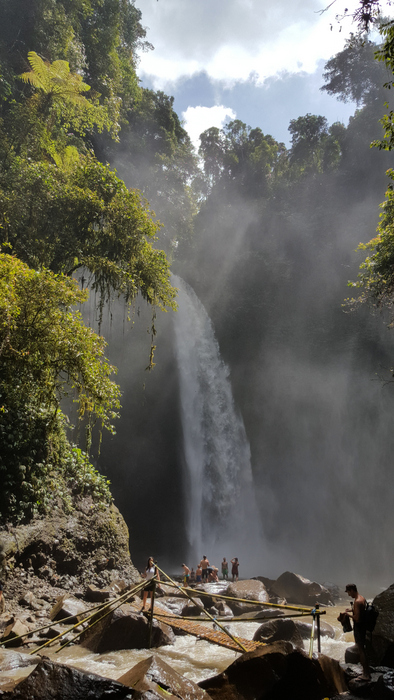 nungnung waterfall waterval bali indonesië indonesia