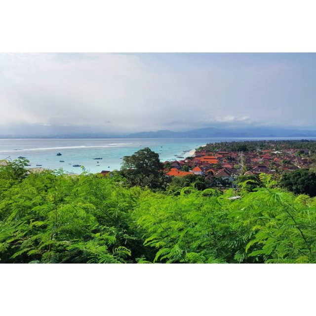 The amazing view over Nusa Lembongan In the distance youhellip