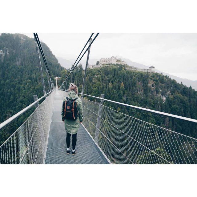 First day in Austria the Highline 179 suspension bridge! 406hellip