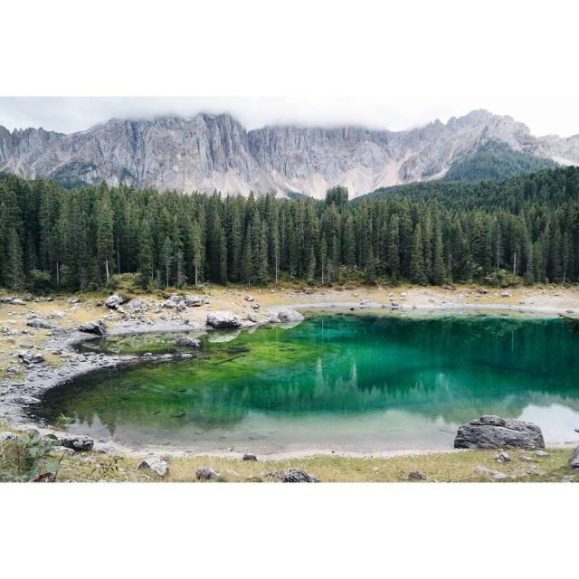 I think Lago Di CarezzaKarersee is the most beautiful lakehellip