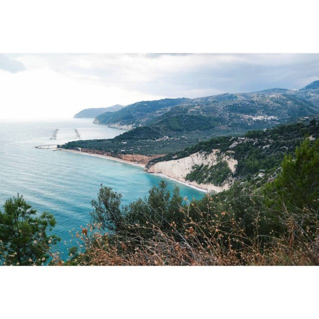 The coastline of Gargano National Park garganonationalpark traveltheworld italia italiehellip