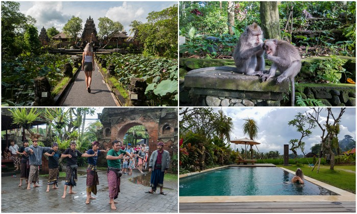 Bali | Ubud: Monkey Forest, Saraswati tempel, restaurant tips & The Runik