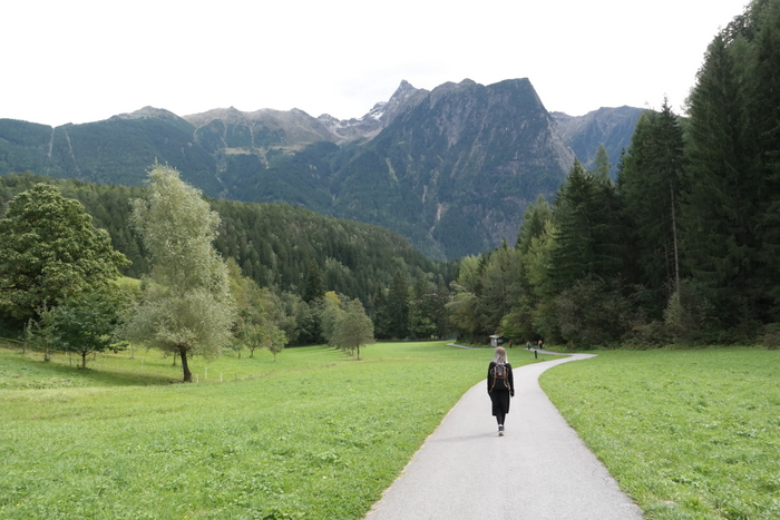 Kaunervaler Gletscherstraße austria oostenrijk