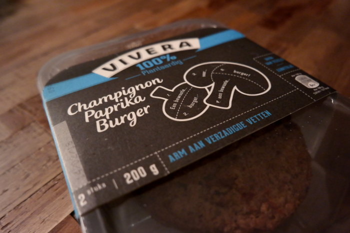 Review | Vivera Champignon Paprika Burger