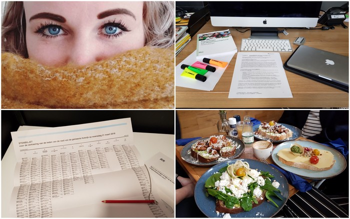 Photo Diary #144 | Stemmen, studeren & lunch-date