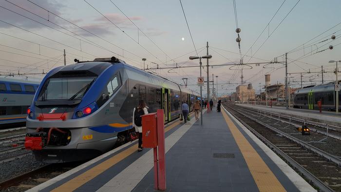 trein rome