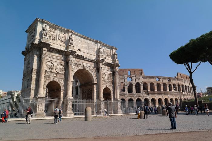 boog van titus rome