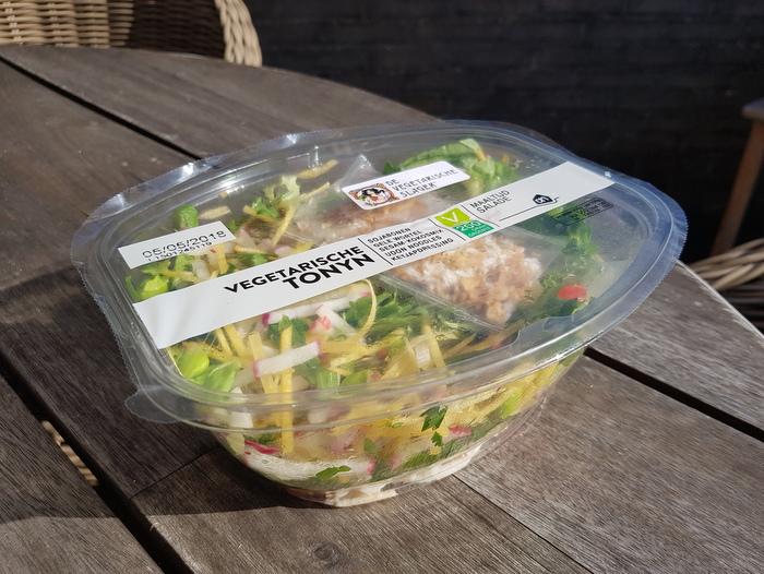Review | Vegetarische Tonyn maaltijdsalade van De Vegetarische Slager
