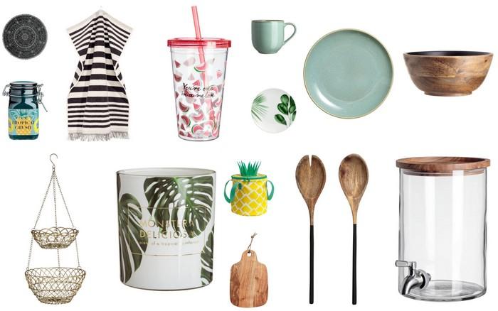 Zomer inspiratie | De nieuwste H&M Home accessoires