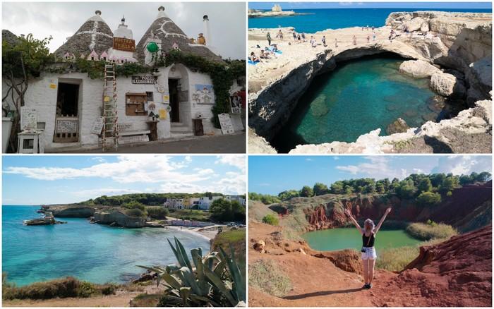 Italië | Puglia: Alberobello, de kust & Cava di Bauxite