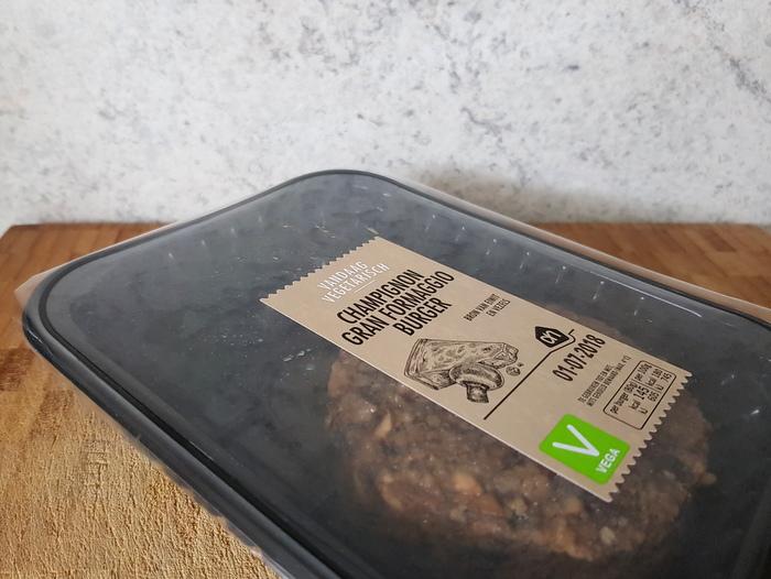 Review | AH Champignon Gran Formaggio Burger