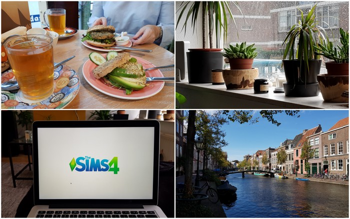 Photo Diary #168   Bagels & Beans, herfst & Sims 4