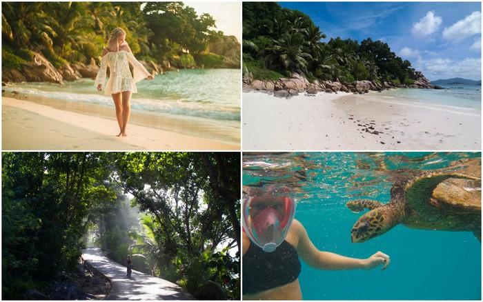 Seychellen | La Digue: Anse Severe, snorkelen & fietsen
